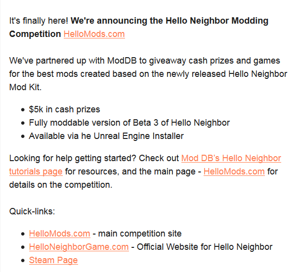 Hello Neighbor mod Kit released