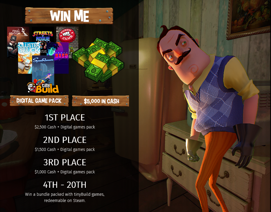 Правила конкурса Hello Neighbor
